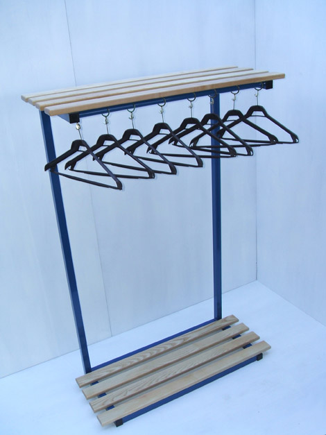 Hanging unit and shelf and bag stand