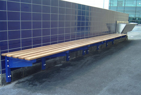 Cantilever External Bench